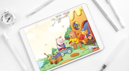sketch, creative, design, color, painting, draw, drawing, animation, color, book, children, kid, girl