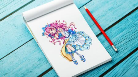 sketch, creative, design, color, painting, draw, drawing, animation, color, book, children, kid, girl, game